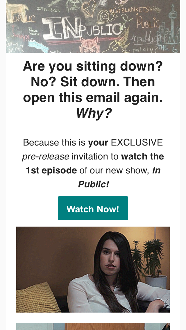 in public webseries email