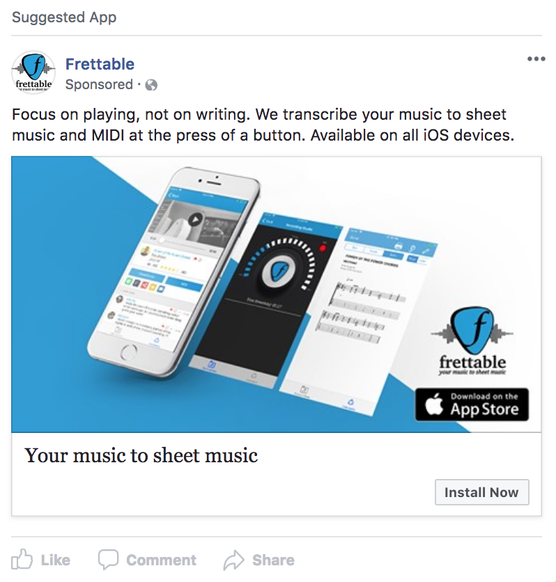 Frettable: Facebook Advertising - In Social