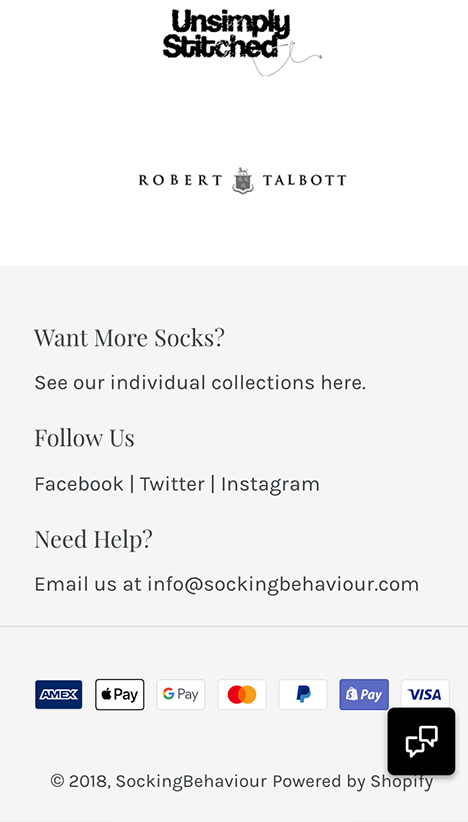 socking behaviour sock of the month mobile